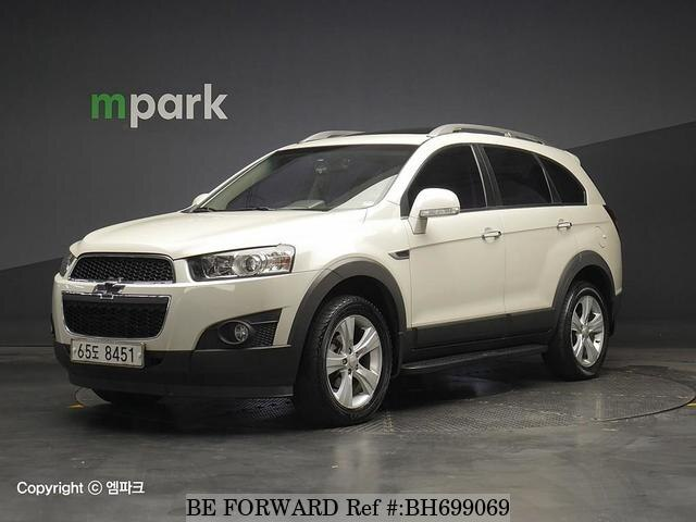 Used 2012 CHEVROLET CAPTIVA BH699069 for Sale