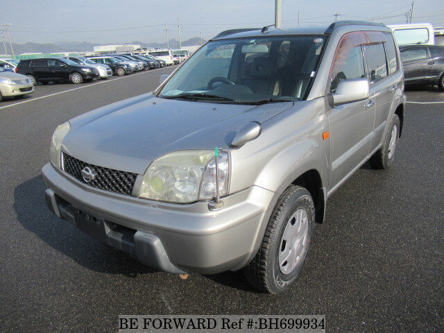Used 2002 NISSAN X-TRAIL BH699934 for Sale