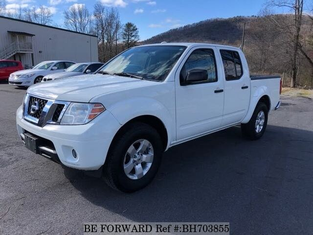 Used 2012 NISSAN FRONTIER BH703855 for Sale