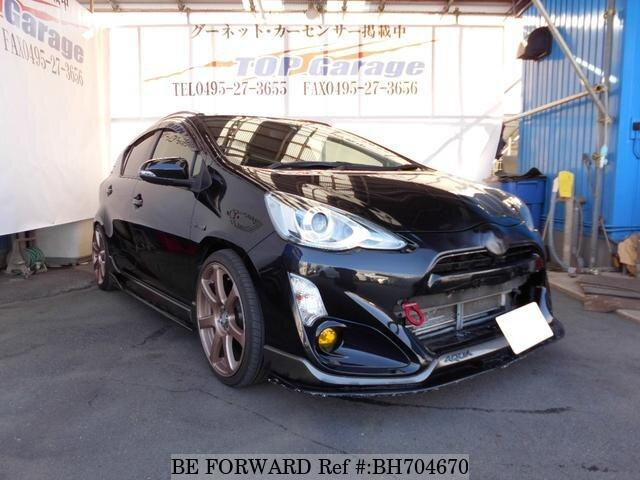 Used 2015 TOYOTA AQUA BH704670 for Sale
