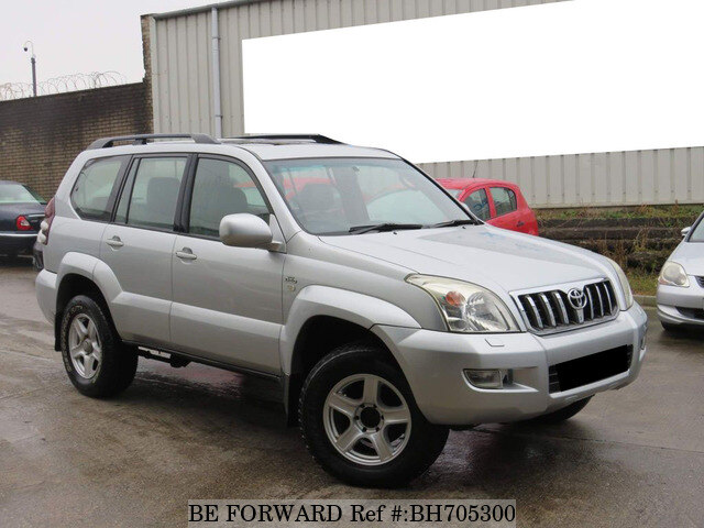 Used 2004 TOYOTA LAND CRUISER BH705300 for Sale