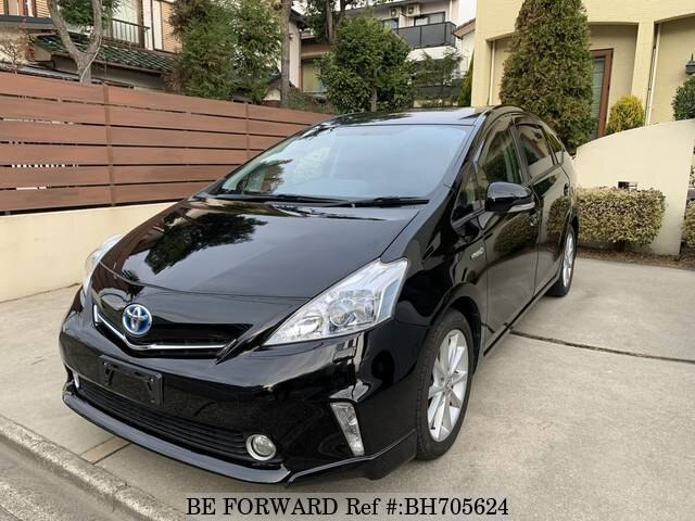 Used 2013 TOYOTA PRIUS ALPHA BH705624 for Sale