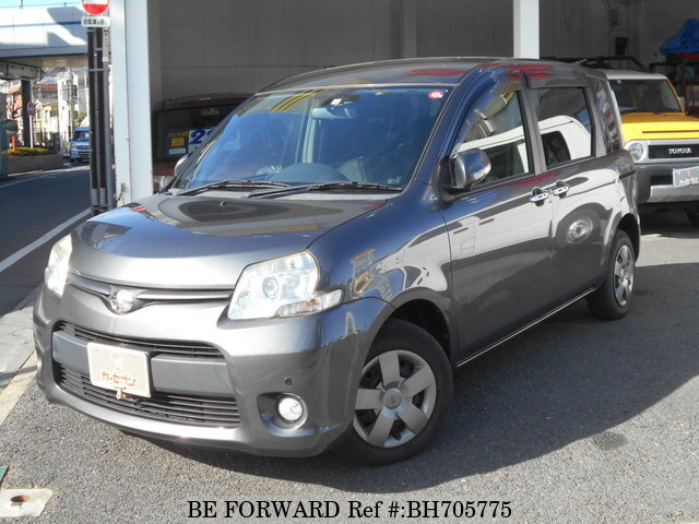 Used 2012 TOYOTA SIENTA BH705775 for Sale