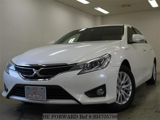 Used 2012 TOYOTA MARK X BH705799 for Sale