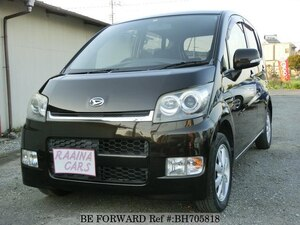 Used 2007 DAIHATSU MOVE BH705818 for Sale