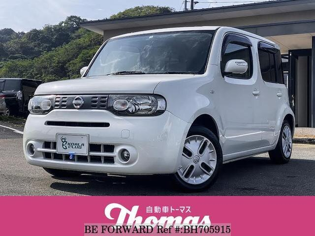 Used 2011 NISSAN CUBE BH705915 for Sale