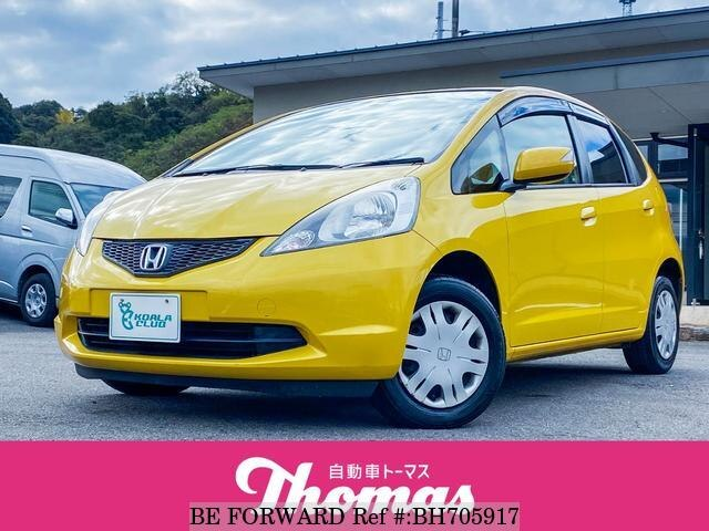 Used 2010 HONDA FIT BH705917 for Sale