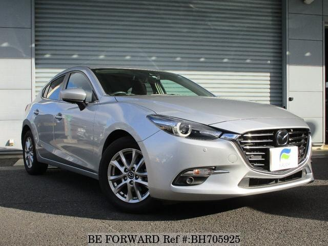 Used 2017 MAZDA AXELA SPORT BH705925 for Sale
