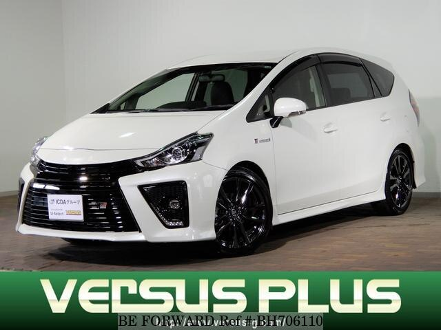 Used 2018 TOYOTA PRIUS ALPHA BH706110 for Sale