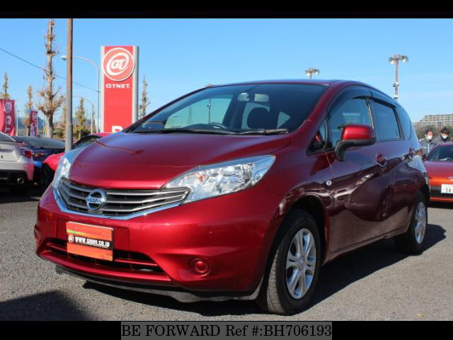 Used 2012 NISSAN NOTE BH706193 for Sale
