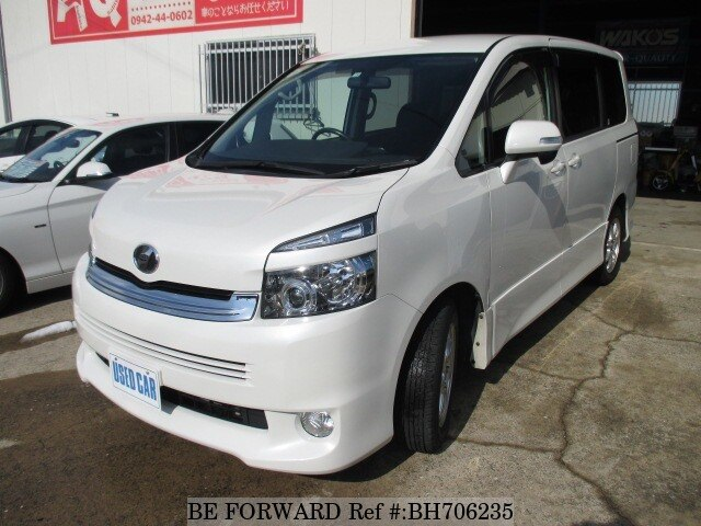 Used 2008 TOYOTA VOXY BH706235 for Sale