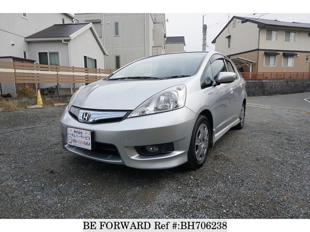 Used 2012 HONDA FIT SHUTTLE HYBRID BH706238 for Sale