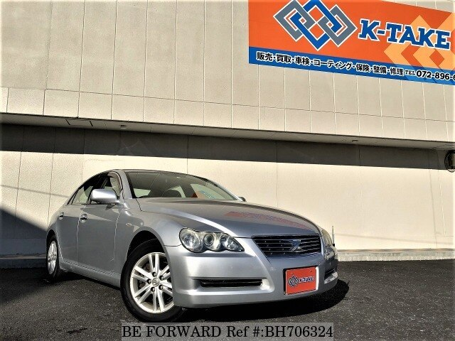 Used 2006 TOYOTA MARK X BH706324 for Sale