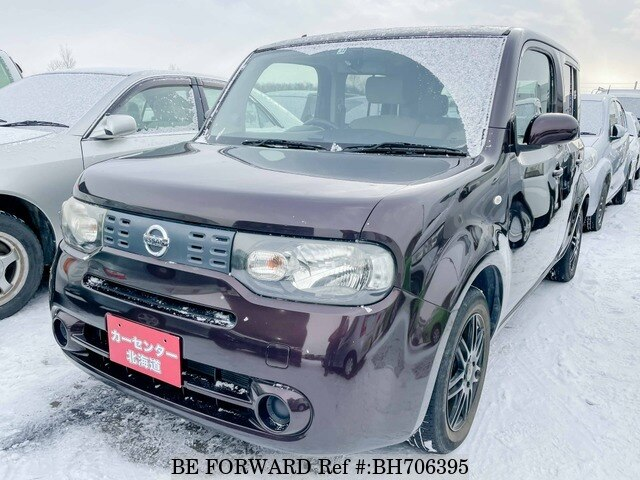 Used 2009 NISSAN CUBE BH706395 for Sale
