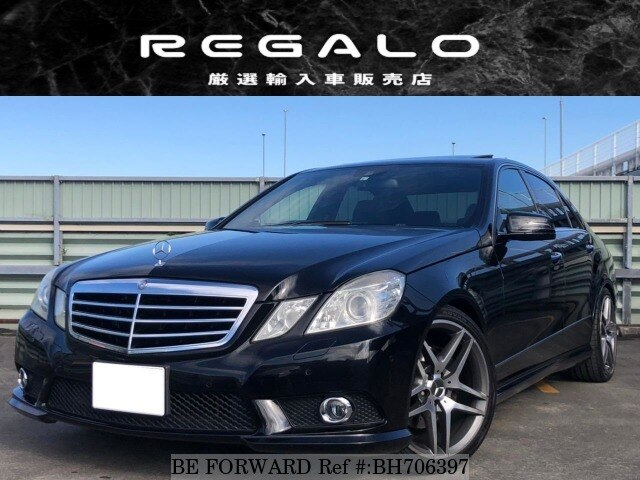 Used 2009 MERCEDES-BENZ E-CLASS BH706397 for Sale
