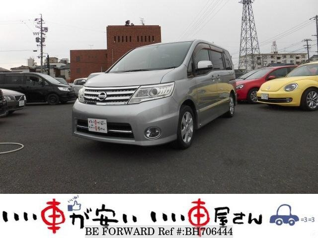 Used 2009 NISSAN SERENA BH706444 for Sale
