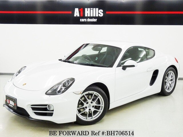 Used 2014 PORSCHE CAYMAN BH706514 for Sale