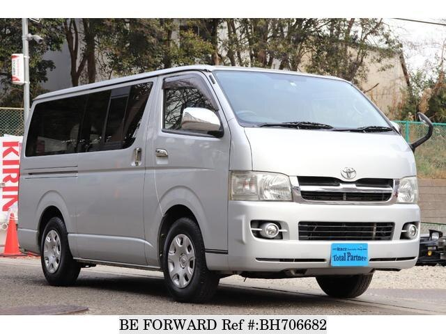 Used 2007 TOYOTA HIACE VAN BH706682 for Sale