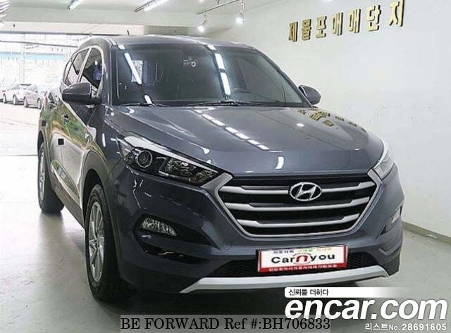 Used 2017 HYUNDAI TUCSON BH706833 for Sale