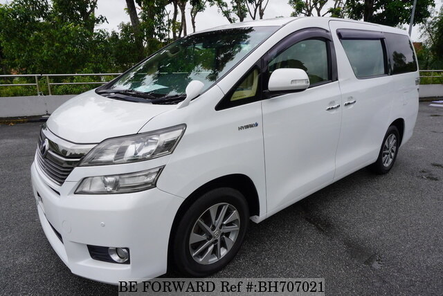 Used 2014 TOYOTA VELLFIRE HYBRID BH707021 for Sale