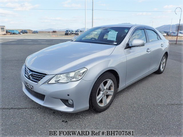 Used 2012 TOYOTA MARK X BH707581 for Sale
