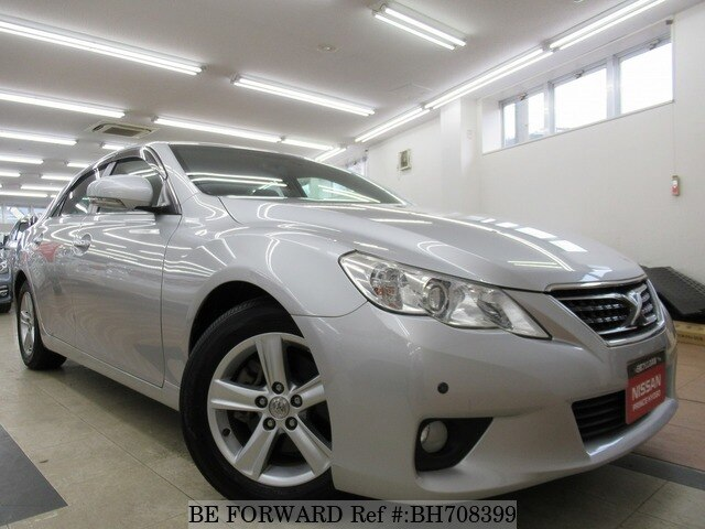 Used 2012 TOYOTA MARK X BH708399 for Sale