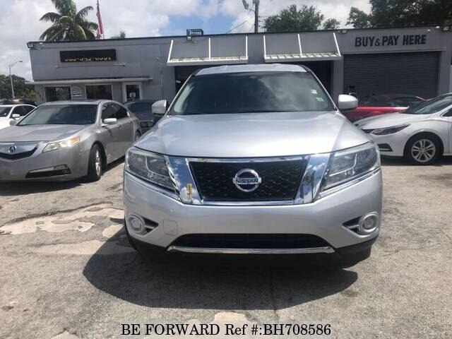 Used 2013 NISSAN PATHFINDER BH708586 for Sale