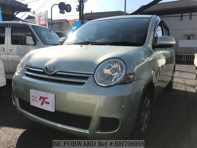 Used 2008 TOYOTA SIENTA BH708955 for Sale