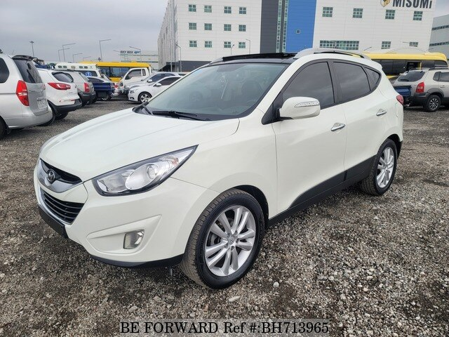 Used 2010 HYUNDAI TUCSON BH713965 for Sale