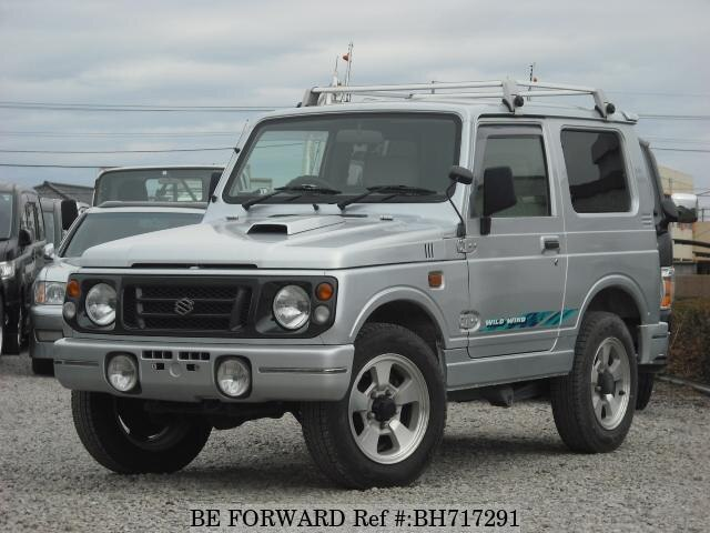 Used 1997 SUZUKI JIMNY BH717291 for Sale
