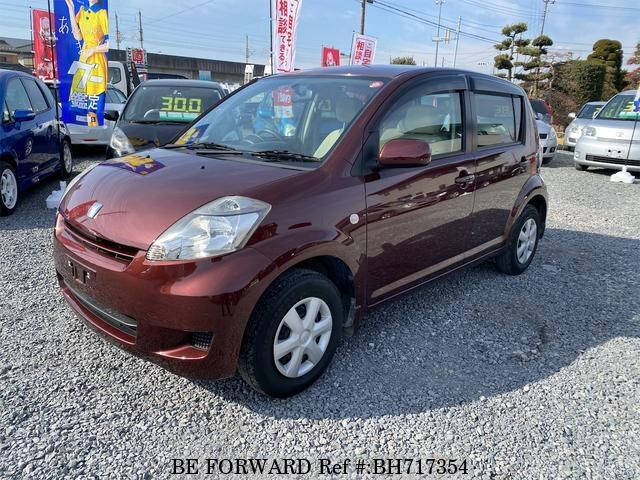 Used 2008 TOYOTA PASSO BH717354 for Sale