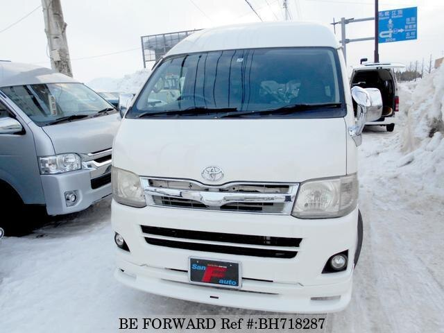 Used 2010 TOYOTA HIACE VAN BH718287 for Sale