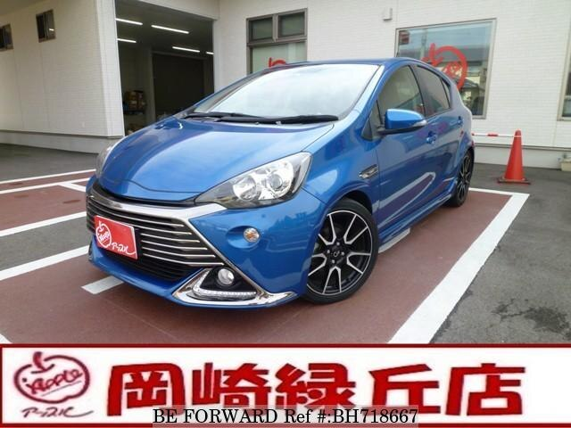 Used 2014 TOYOTA AQUA BH718667 for Sale