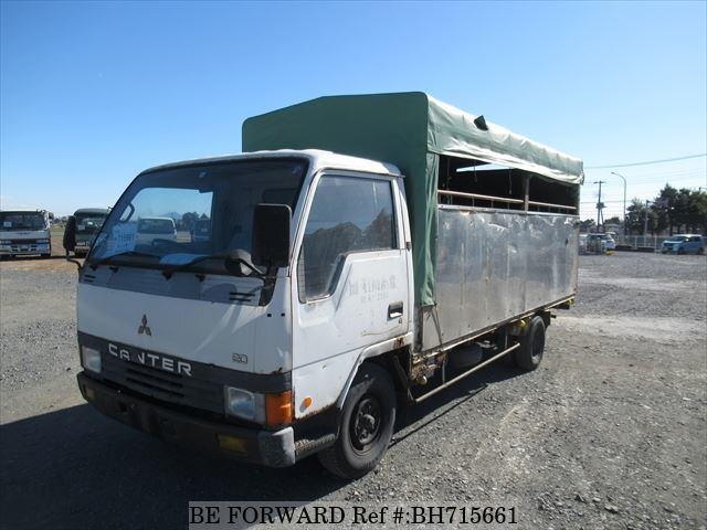 Used 1987 MITSUBISHI CANTER BH715661 for Sale