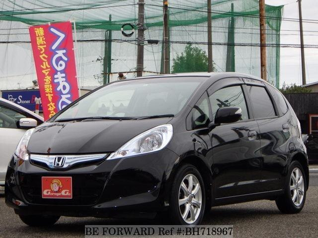 Used 2011 HONDA FIT HYBRID BH718967 for Sale