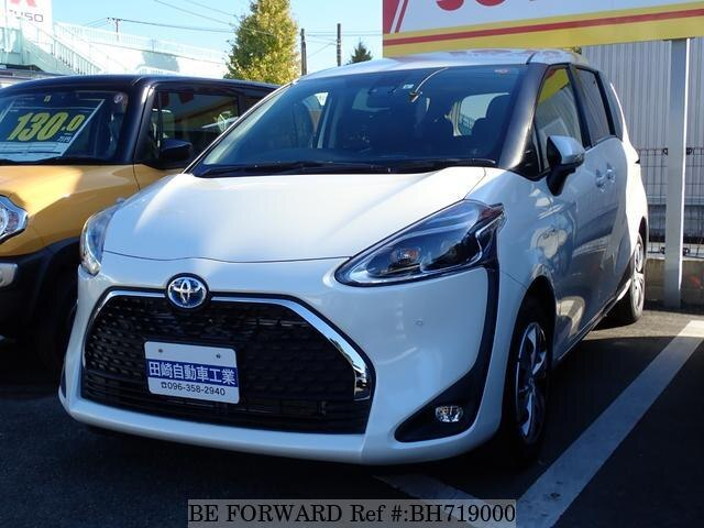 Used 2019 TOYOTA SIENTA BH719000 for Sale