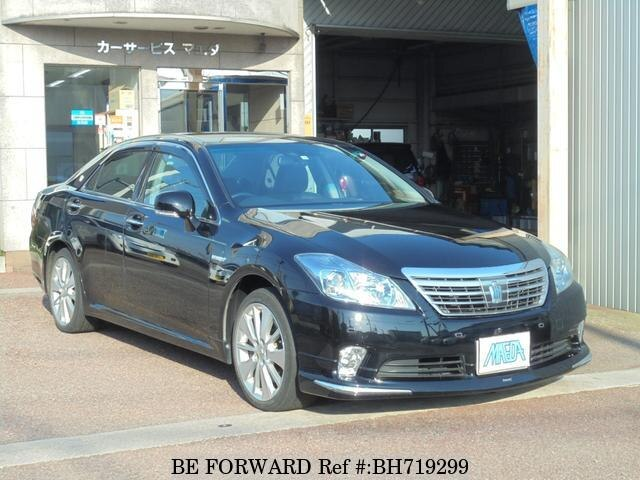 Used 2010 TOYOTA CROWN HYBRID BH719299 for Sale