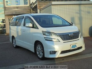Used 2009 TOYOTA VELLFIRE BH719327 for Sale