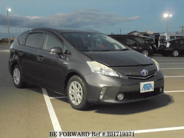 Used 2011 TOYOTA PRIUS ALPHA BH719371 for Sale