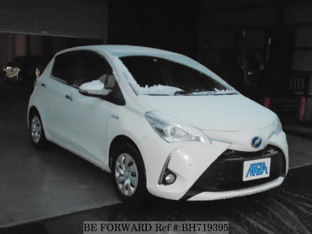 Used 2019 TOYOTA VITZ BH719395 for Sale