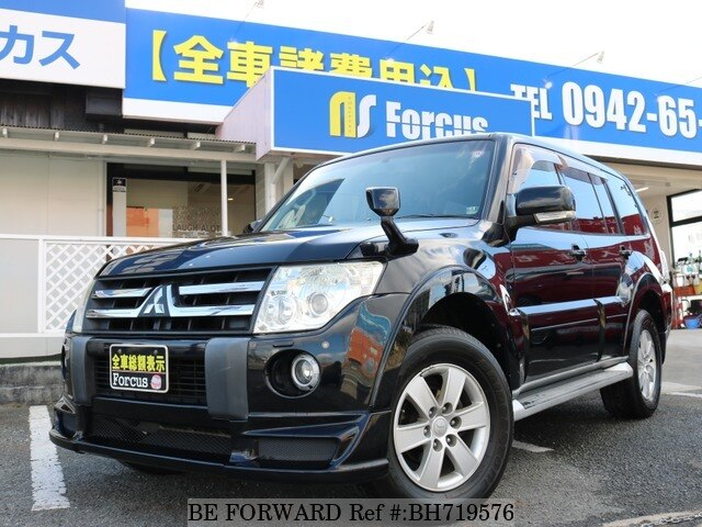 Used 2008 MITSUBISHI PAJERO BH719576 for Sale