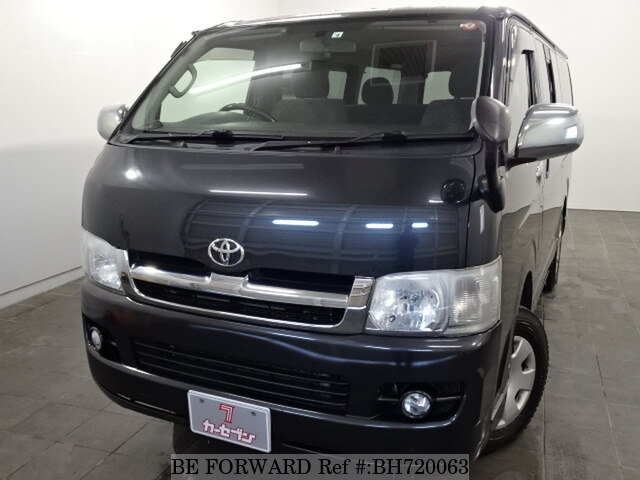 Used 2007 TOYOTA HIACE VAN BH720063 for Sale