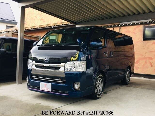 Used 2016 TOYOTA HIACE VAN BH720066 for Sale