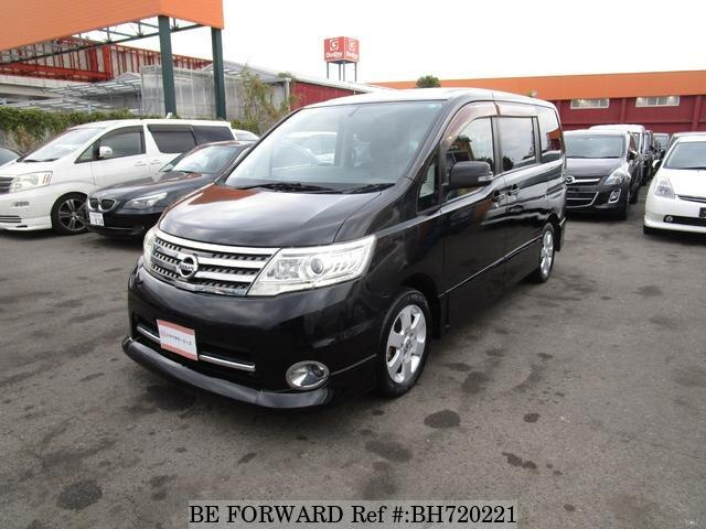 Used 2009 NISSAN SERENA BH720221 for Sale