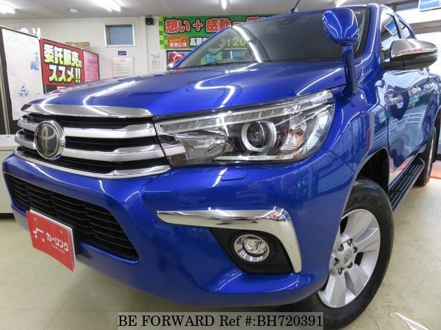 Used 2017 TOYOTA HILUX BH720391 for Sale