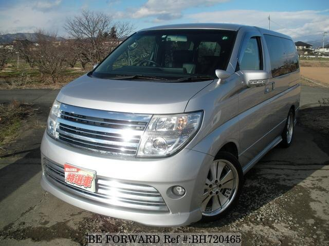Used 2008 NISSAN ELGRAND BH720465 for Sale
