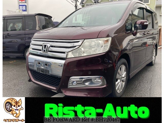 Used 2010 HONDA STEP WGN BH720467 for Sale