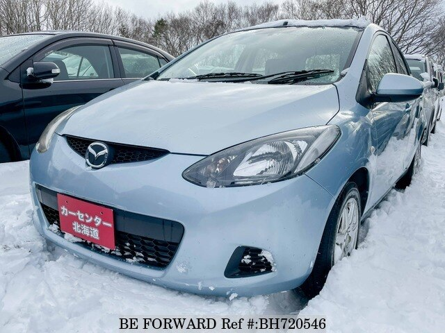 Used 2009 MAZDA DEMIO BH720546 for Sale