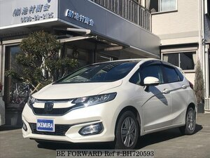 Used 2018 HONDA FIT BH720593 for Sale