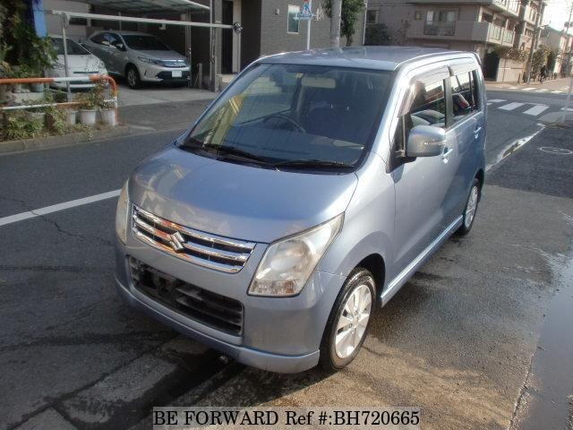 Used 2009 SUZUKI WAGON R BH720665 for Sale